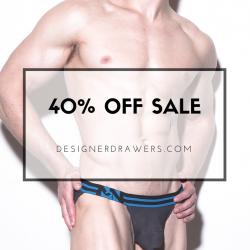 Save 40% off at Designer Drawers