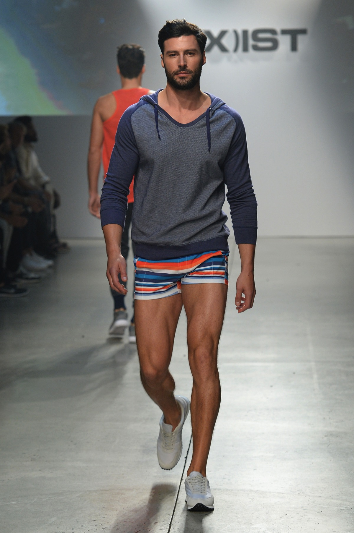Male underwear fashion show video 7