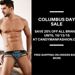 Columbus Day Sale At Candyman Fashion