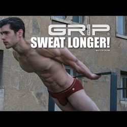 Sweat Longer : Ft Rene Grincourt – Jules Horn in GRIP Athletic by C-IN2