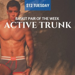 Baskit $12 Tuesday – Active Trunk