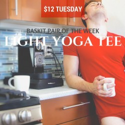 Baskit $12 Tuesday Light Yoga Tee