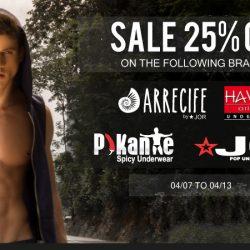 Save 25% off JOR, Hawai and Pikante