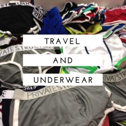 A Journey – Traveling and Underwear