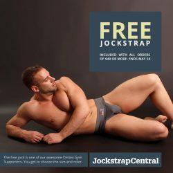 Get a free Jock and Free Shipping at Jockstrap Central