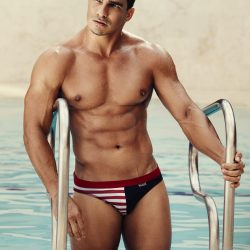 Get wild with Candyman Swimwear