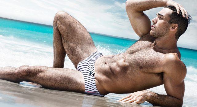 Swimwear Sunday – aussieBum Luxe Line Snapper Swim Brief