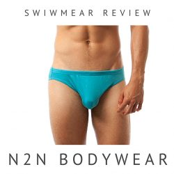 REVIEW: N2N Bodywear Tempest Solid Swim Brief