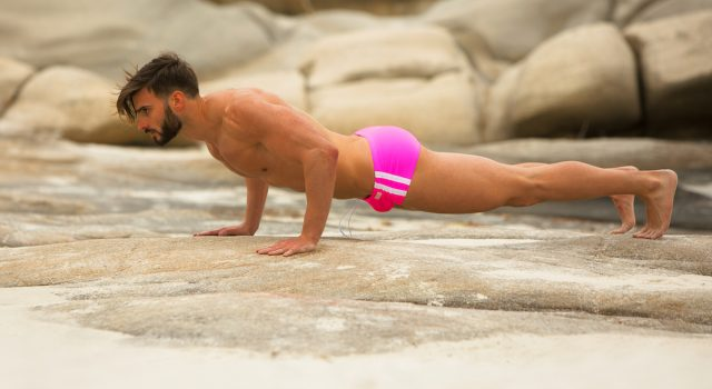 Athletic swimwear in neon colours by Modus Vivendi