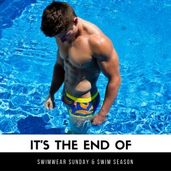 Good Bye Swimwear Season and Swimwear Sunday