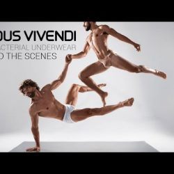 Modus Vivendi Anti-Bacterial men's underwear behind the scenes