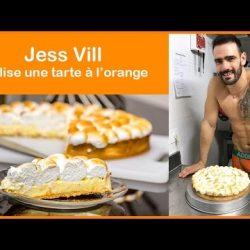 Cooking in Underwear – Jess Vill cooks an orange pie