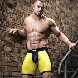 Underwear Review – Sukrew Full Sprint Yellow & Black Jake