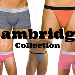 New from Kiniki – Cambridge Collection