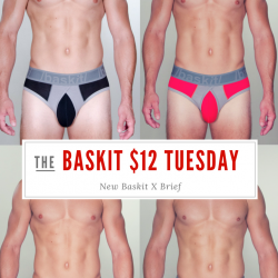 Baskit $12 Tuesday – X Brief