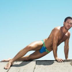 Model Interview –  Andrew Christian Model Austin