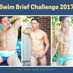 Swim Brief Challenge 2017 – Are you Man Enough?