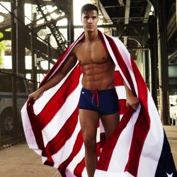 Brief Distraction featuring Garcon Model 4th of July
