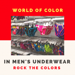 Technicolor World of Men's Underwear