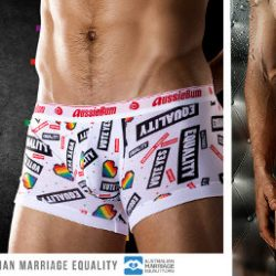 aussieBum Show Your Support or Bare All