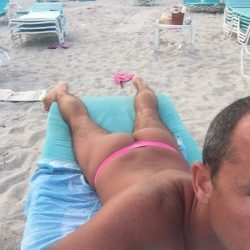 Thonging on Miami Beach by UNB Ryan