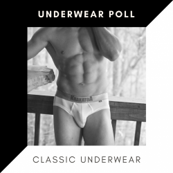 Should guys wear classic undies: You Told us