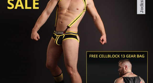 Jockstrap Central Cellblock 13 Sale and Gear Bag Giveaway