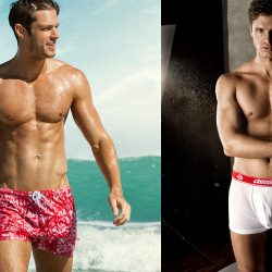 aussieBum – Bloom shorts and CottonRise Undies