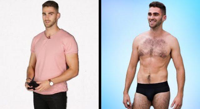 Buzz Feed – Men Get Styled In Their Perfect Underwear