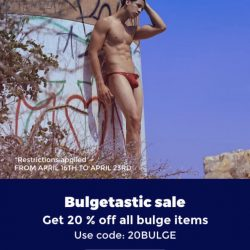Bulgetastic Sale on Joe Snyder Bulge Line