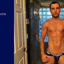 Video Underwear Review – Stud Titan Denim JOck