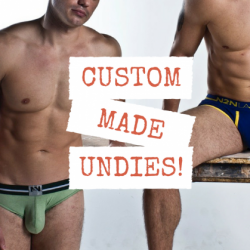 Thong Thursday – Custom Made Thongs?