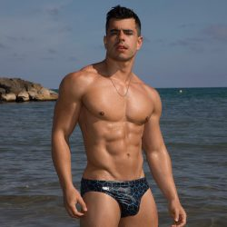 Garcon Model Swimwear Sweepstakes