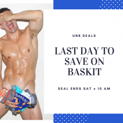 Last Day to get Baskit at UNB Deals!