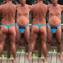 Review – DADDY THONG TURQUOISE/BLACK