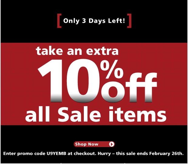 UnderGear - 10% off Sale Items