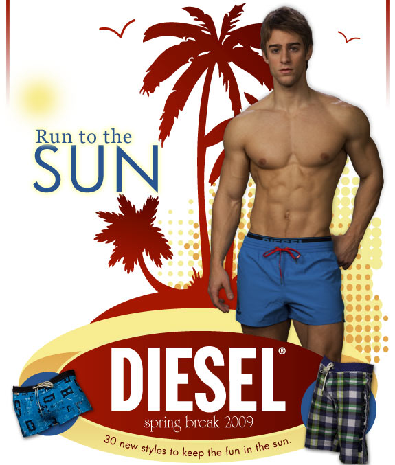 Men's Undewear Store - New Diesel Swimwear