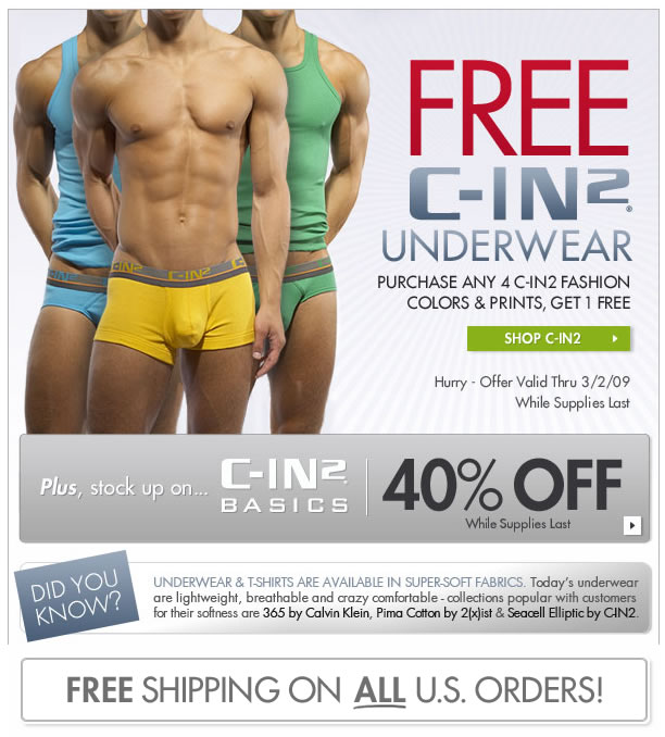 Fresh Pair - Buy 4 C-IN2 and get one free