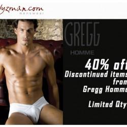 Wyzman – 40% off Gregg Homme