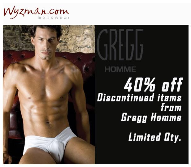Wyzman - 40% off Gregg Homme