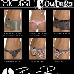 Dead Good Undies – New Waxx, HOM Couture & Bjorn Borg