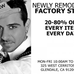 Andrew Christian – Remodeled Factory Store