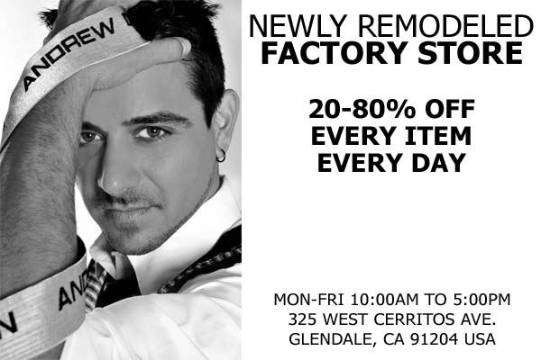 Andrew Christian - Remodeled Factory Store