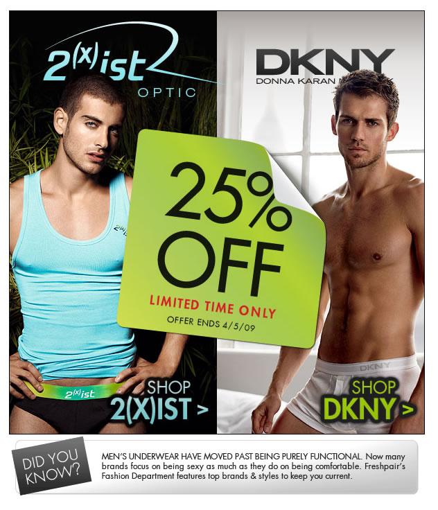 Fresh Pair - 2(x)ist and DKNY