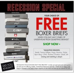 Fresh Pair – Free Boxer Briefs