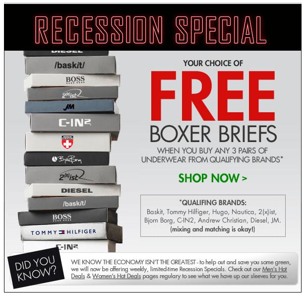 Fresh Pair - Free Boxer Briefs