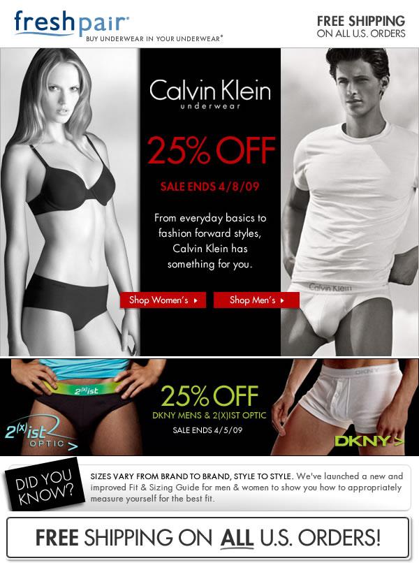Fresh Pair - CK and DKNY sale