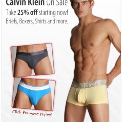 International Jock – Calvin Klein 25% off