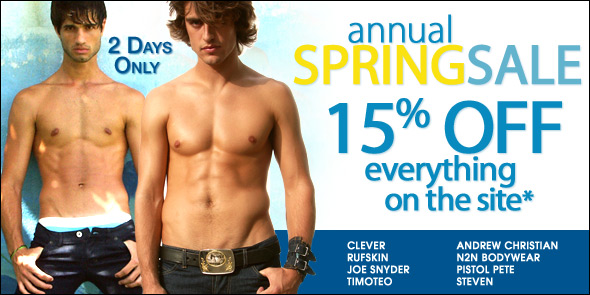 10 Percent - Annual Spring Sale