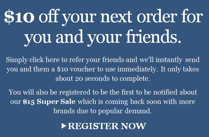 Below the Belt - Refer your friends and save $10